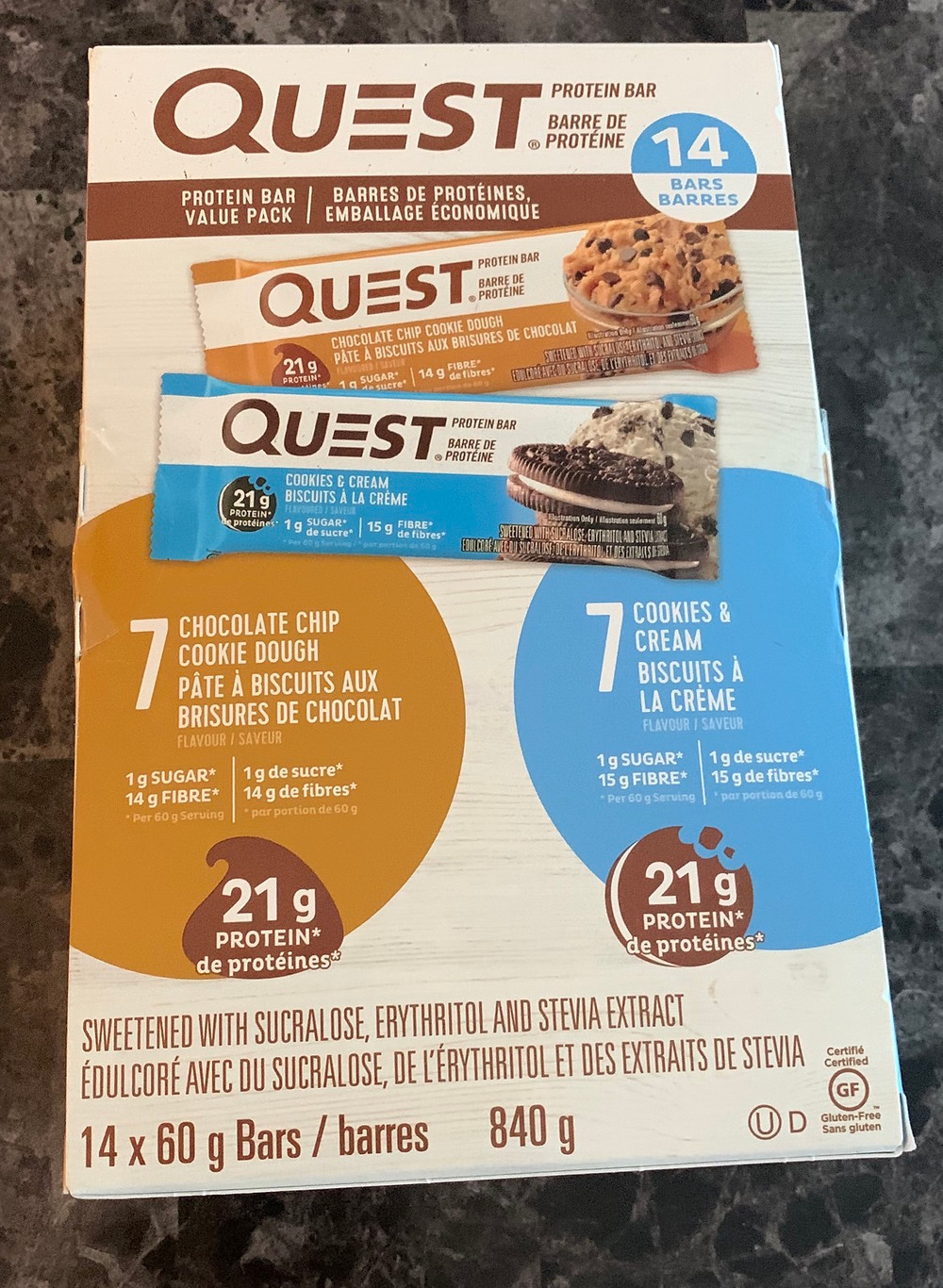 Costco Quest Protein Bars