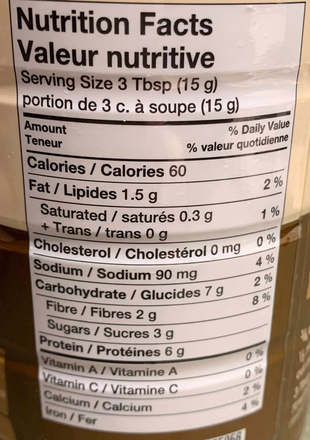 Costco Kraft Chocolate Peanut Butter Powder Nutrition
