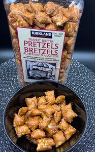 Costco Kirkland Signature Peanut Butter Pretzels
