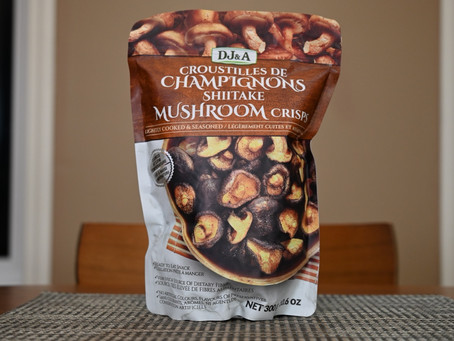 Costco DJ&A Shiitake Mushroom Crisps Review