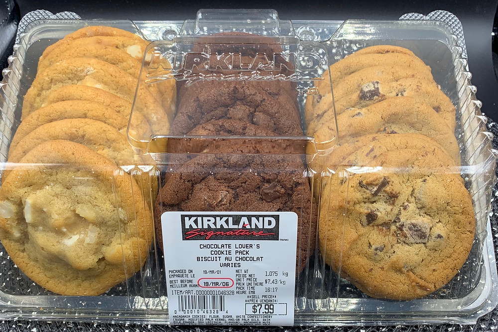 Costco Kirkland Signature Chocolate Lover's Cookie Pack