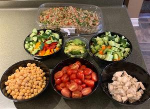 My Costco Kirkland Signature Quinoa Salad Bar