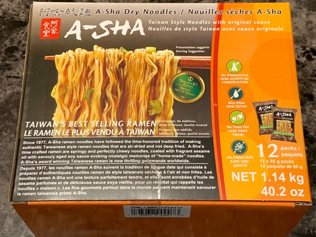 Costco Taiwan Style A-Sha Ramen Dry Noodles Review