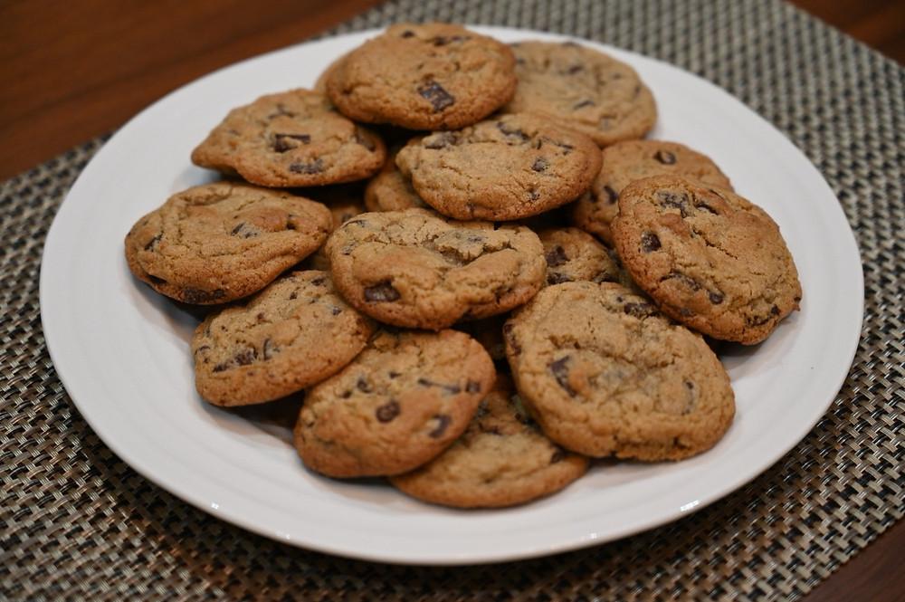 Costco gluten-free cookie mix freshly-baked cookies