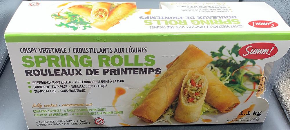 Costco Summ! Crispy Vegetable Spring Rolls