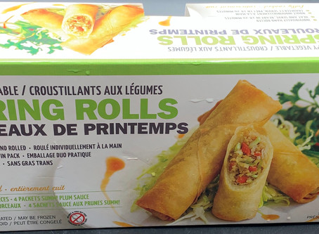 Costco Summ! Crispy Vegetable Spring Rolls Review