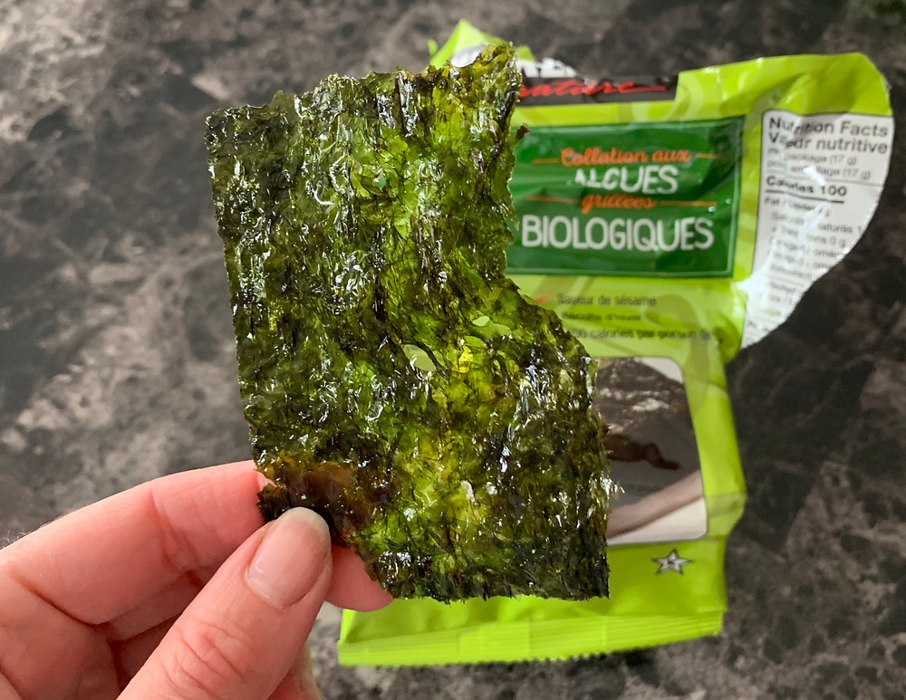 Costco Kirkland Signature Organic Seaweed Snack