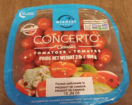 Costco Concerto Cherry Tomatoes Review