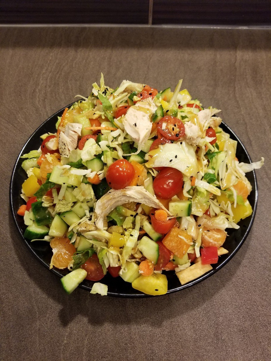 Asian Cashew Chopped Salad Recipe