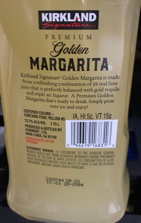 Costco Golden Margarita