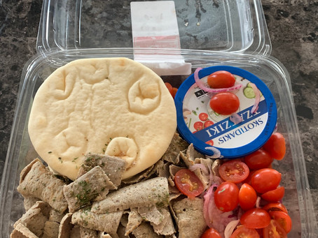 Costco Gyro Pita Greek Style Meal Review