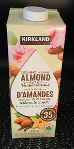 Costco Kirkland ORGANIC Signature Vanilla Almond Milk Review