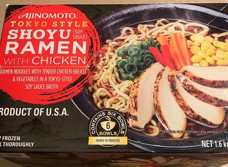 Costco  Ajinomoto Tokyo Style Shoyu Ramen with Chicken Review