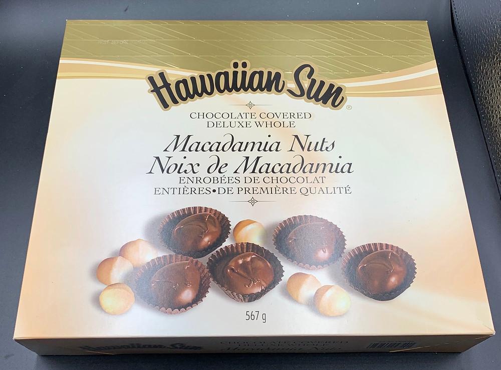 Costco Hawaiian Sun Chocolate Covered Macadamia Nuts