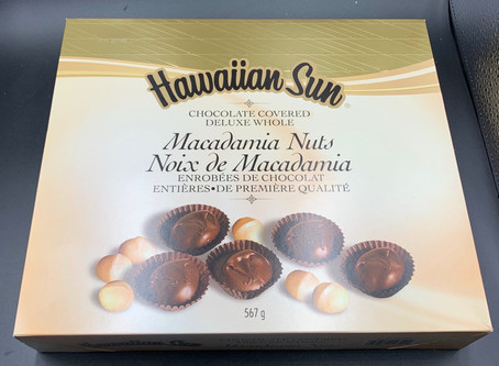 Costco Hawaiian Sun Chocolate Covered Macadamia Nuts Review