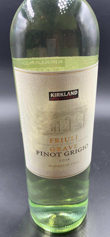 Costco Kirkland Signature Pinot Grigio 2018