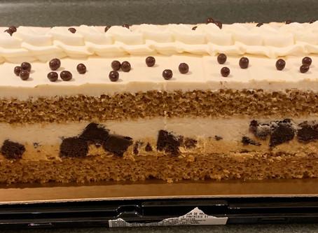 Costco Kirkland Signature Caramel Brownie Cake Review
