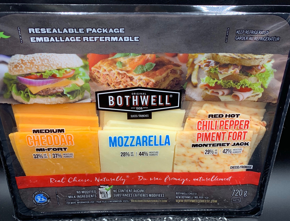 Bothwell Cheese Slice Variety Pack