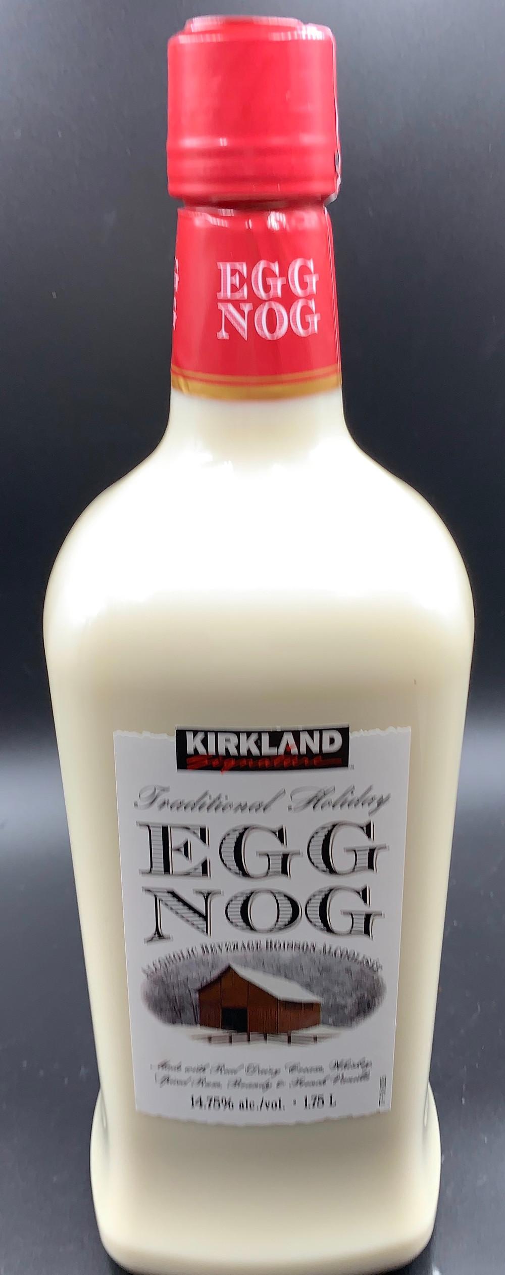 Costco Kirkland Signature Traditional Holiday Egg Nog Alcoholic Beverage
