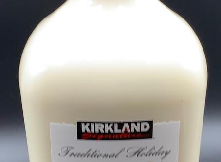 Costco Kirkland Signature Traditional Holiday Egg Nog Alcoholic Beverage Review
