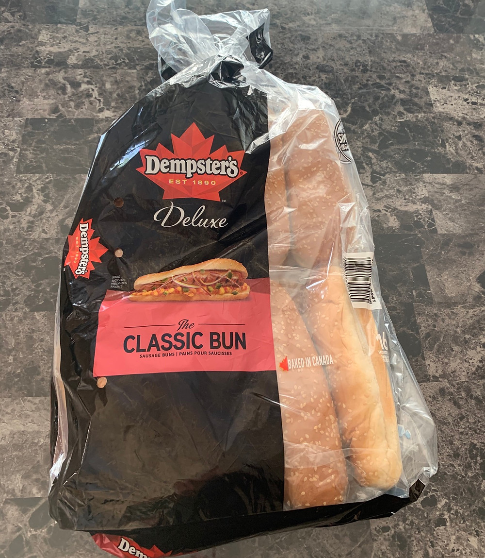 Costco Dempsters Deluxe Classic Hot Dog Buns