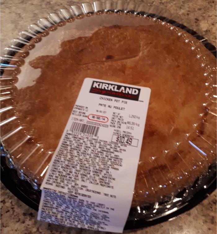 Costco Kirkland Signature Chicken Pot Pie