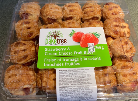Costco Baketree Strawberry & Cream Cheese Fruit Bites Review