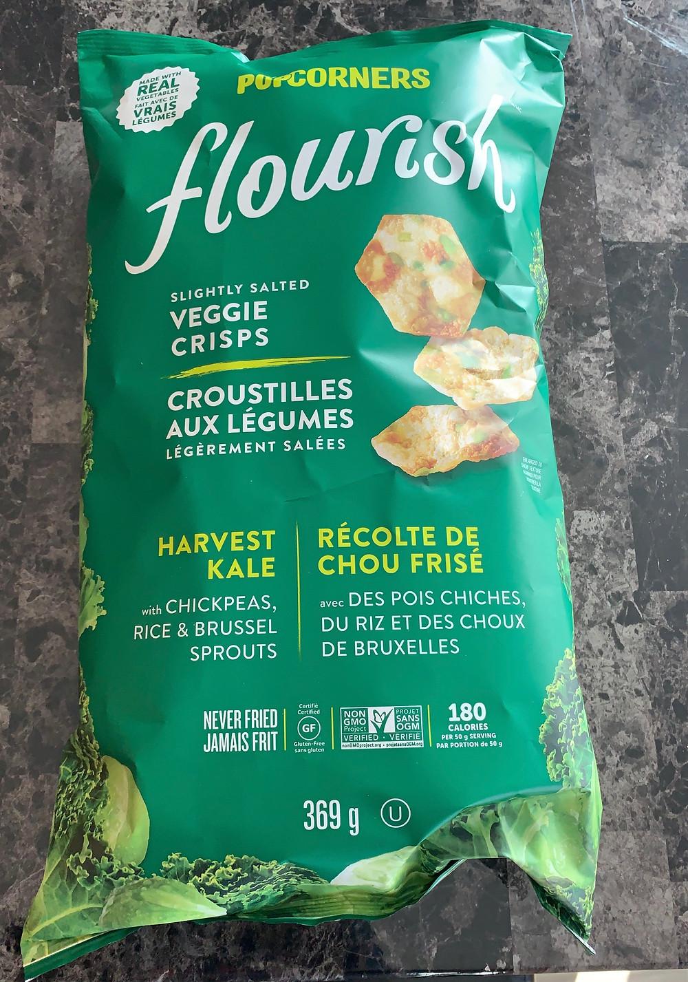 Costco POPCORNERS Flourish Veggie Crisps