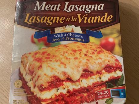 Costco Zinetti Meat Lasagna Review