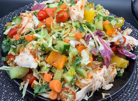 Recipe for Enhanced Costco Taylor Farms Thai Style Chili Mango Salad