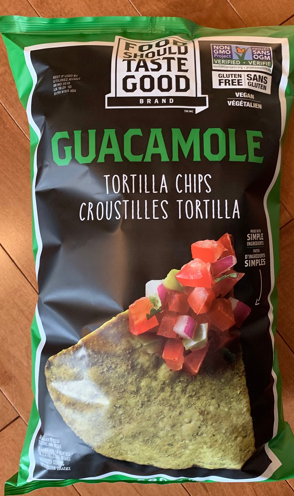 Costco Food Should Taste Good Guacamole Tortilla Chips