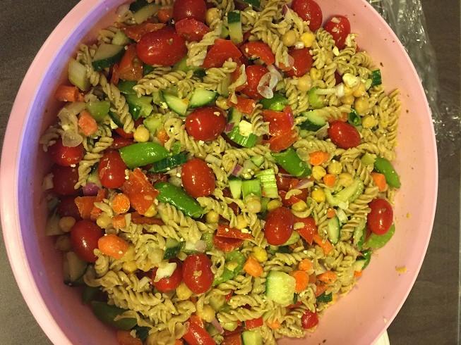 Costco Kirkland Signature Basil Pesto Pasta Salad