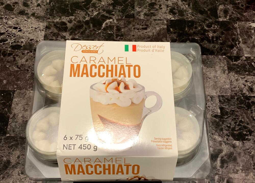 Costco Dessert Italiano Caramel Macchiato