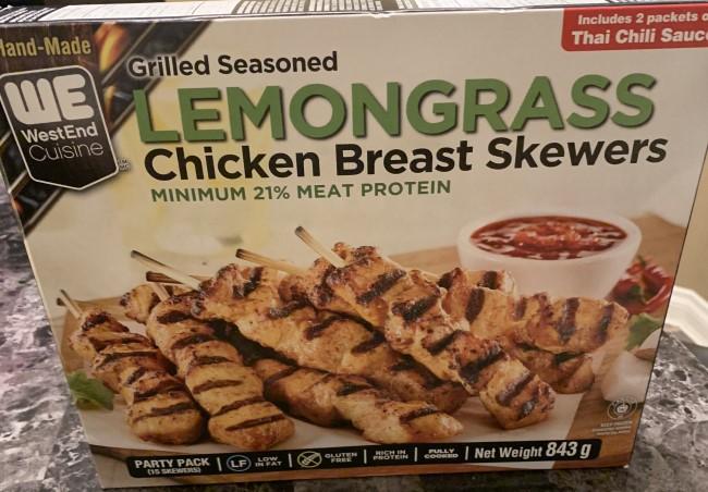 Costco Westend Cuisine Lemongrass Chicken Breast Skewers Review