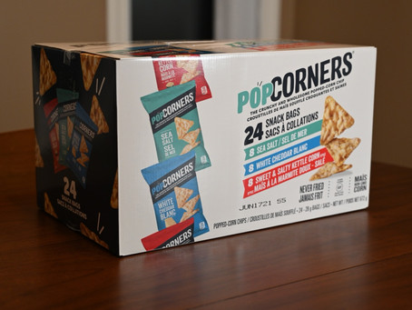 Costco PopCorners Snack Bag Pack Review