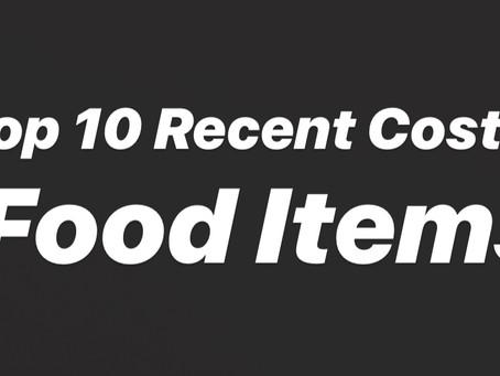 200th Post! Top 10 Recent Costco Food Items!