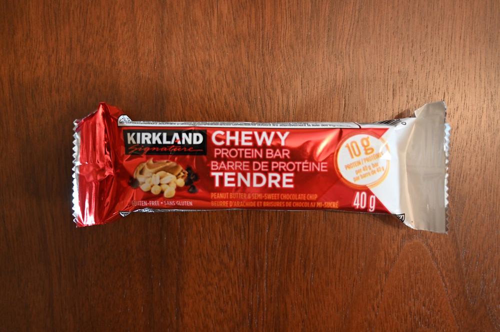Costco Kirkland Signature Chewy Protein Bars