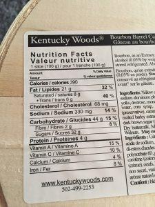 Costco Kentucky Woods Bourbon Barrel Cake