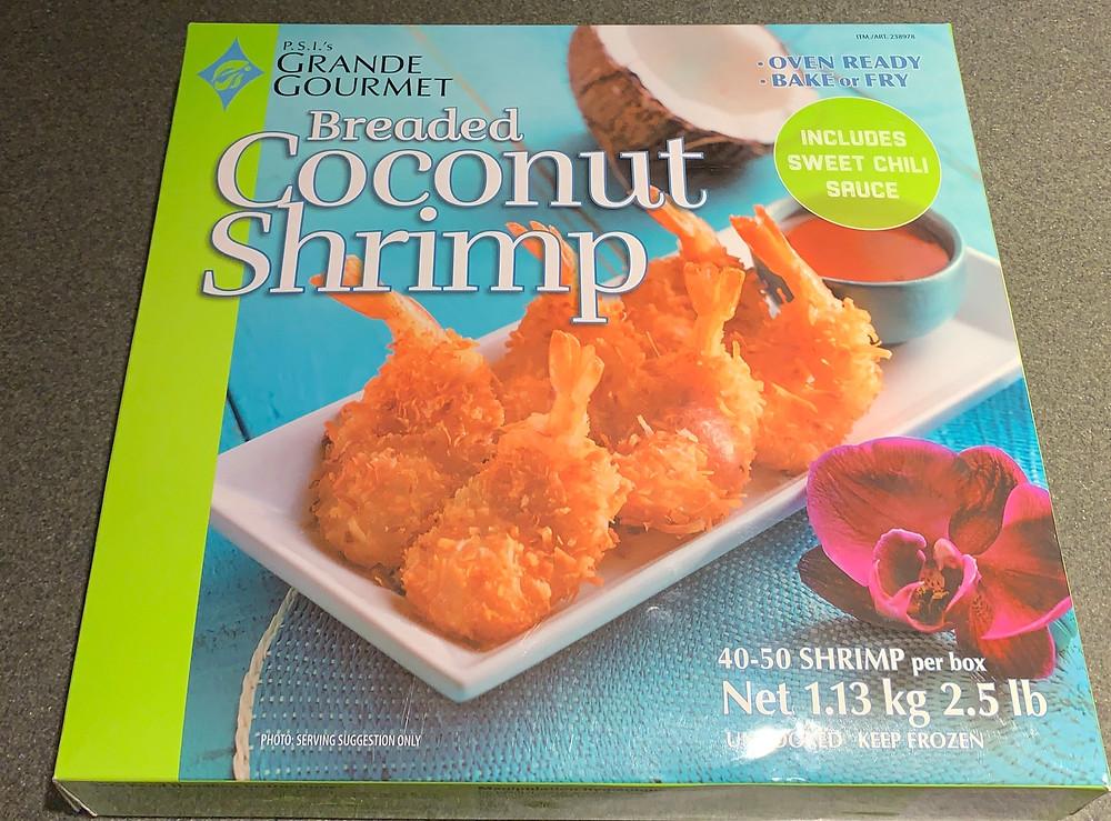 Costco P.S.I's Grande Gourmet Coconut Shrimp