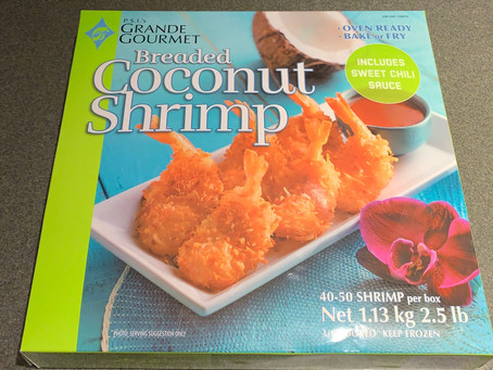 Costco P.S.I's Grande Gourmet Coconut Shrimp Review