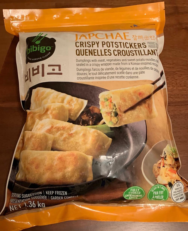 Costco Bibigo Japchae Crispy Potstickers