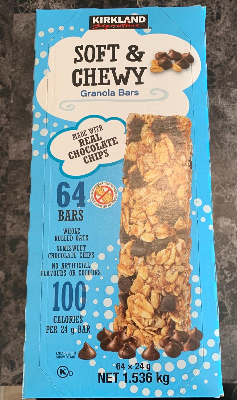 Costco Kirkland Signature Soft & Chewy Granola Bars