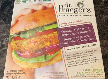 Costco dr. Praegers Organic California Veggie Burgers Review