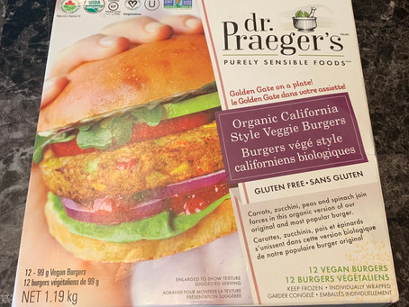 Costco dr. Praegers Organic California Veggie Burgers Review