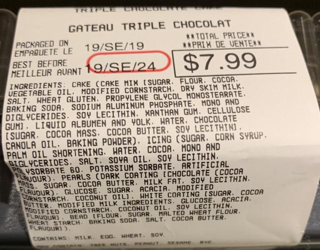 Costco Kirkland Signature Triple Chocolate Cake Ingredients