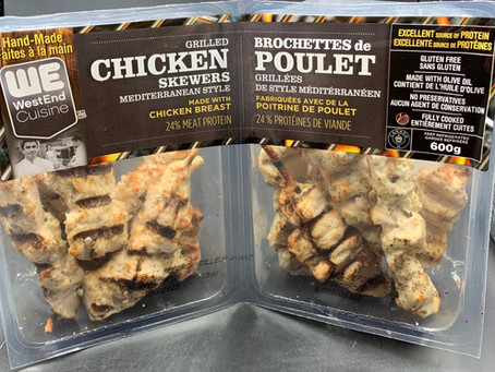 Costco WestEnd Cuisine Grilled Chicken Skewers Mediterranean Style Review