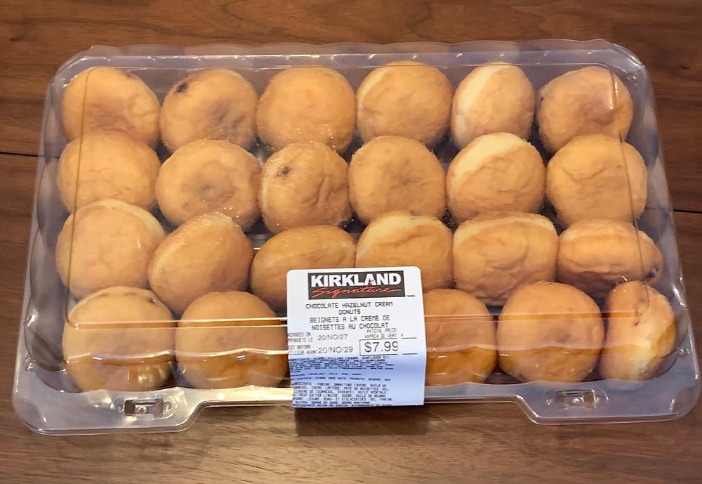 Costco Kirkland Signature Hazelnut Cream Donuts