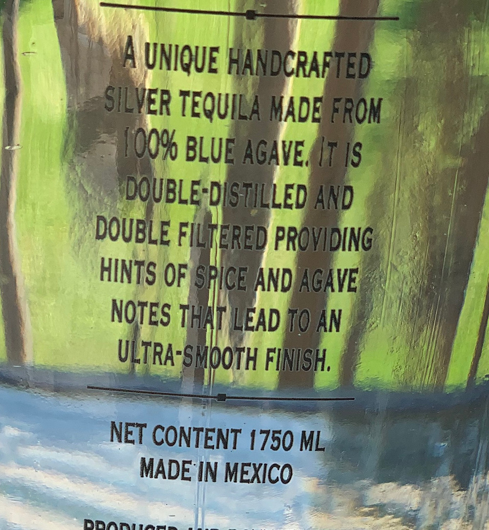 Costco Kirkland Signature Silver Tequila