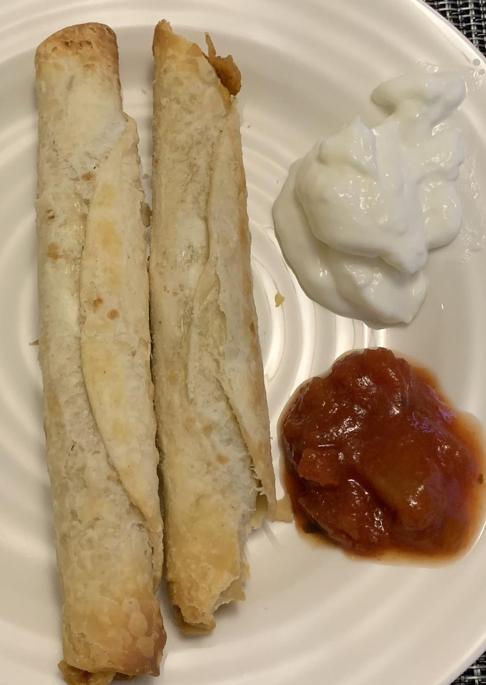 Costco El Monterey Chicken & Cheese Taquitos