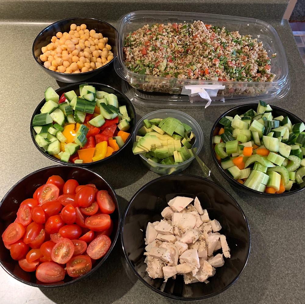 Costco Kirkland Signature Quinoa Salad Salad Bar